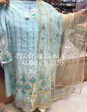 Maria B Georgette Embroidered ID02120 (Indian)