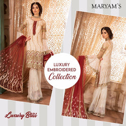 Luxury Maryam's Gold ID02081 (Pakistani)