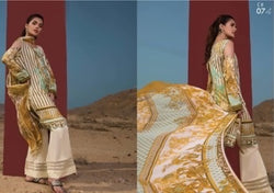 Firdous Cotton Embroidered Lawn ID02040 (Pakistani)
