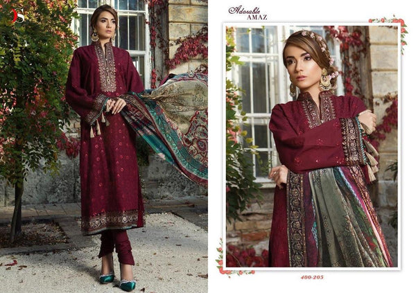 Maria B Georgette Embroidered ID02123 (Indian)