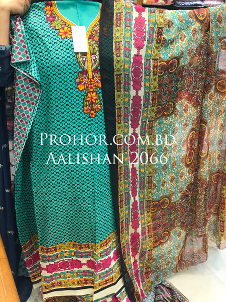 Aalishan Cotton Lawn ID02066 (Pakistani)