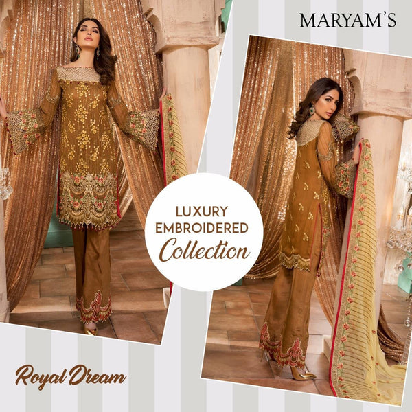 Luxury Maryam's Gold ID02088 (Pakistani)