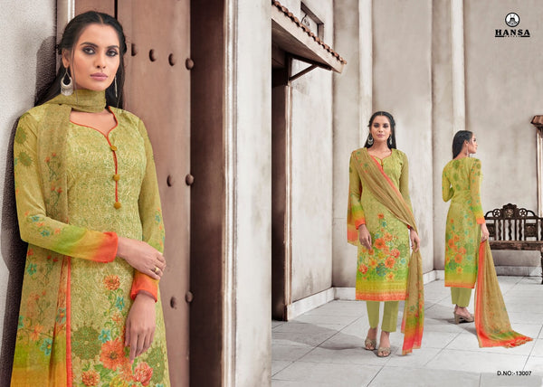 Hansa Georgette Salwar Kameez ID02129 (Indian)