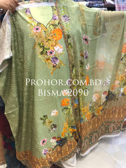 Bisma Cotton Lawn ID02090 (Pakistani)