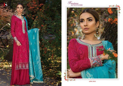 Maria B Georgette Embroidered ID02124 (Pakistani)