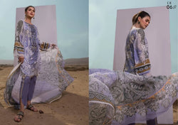 Firdous Cotton Embroidered Lawn ID02039 (Pakistani)