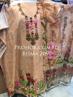 Bisma Cotton Lawn ID02091 (Pakistani)