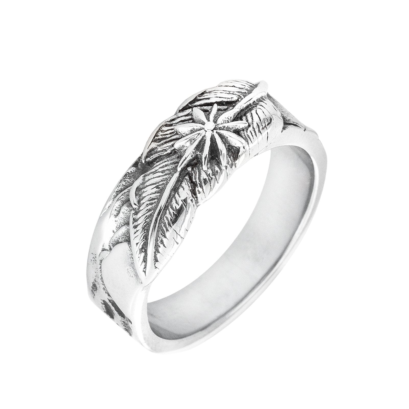 Solid Feather Ring
