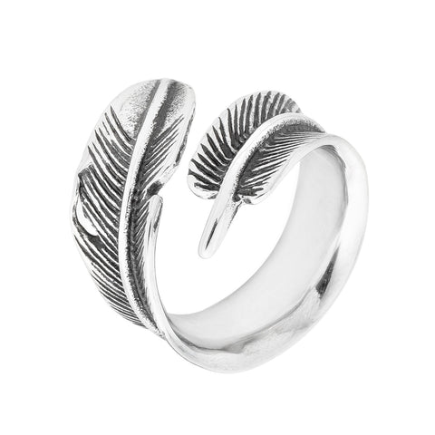 Single Feather Ring