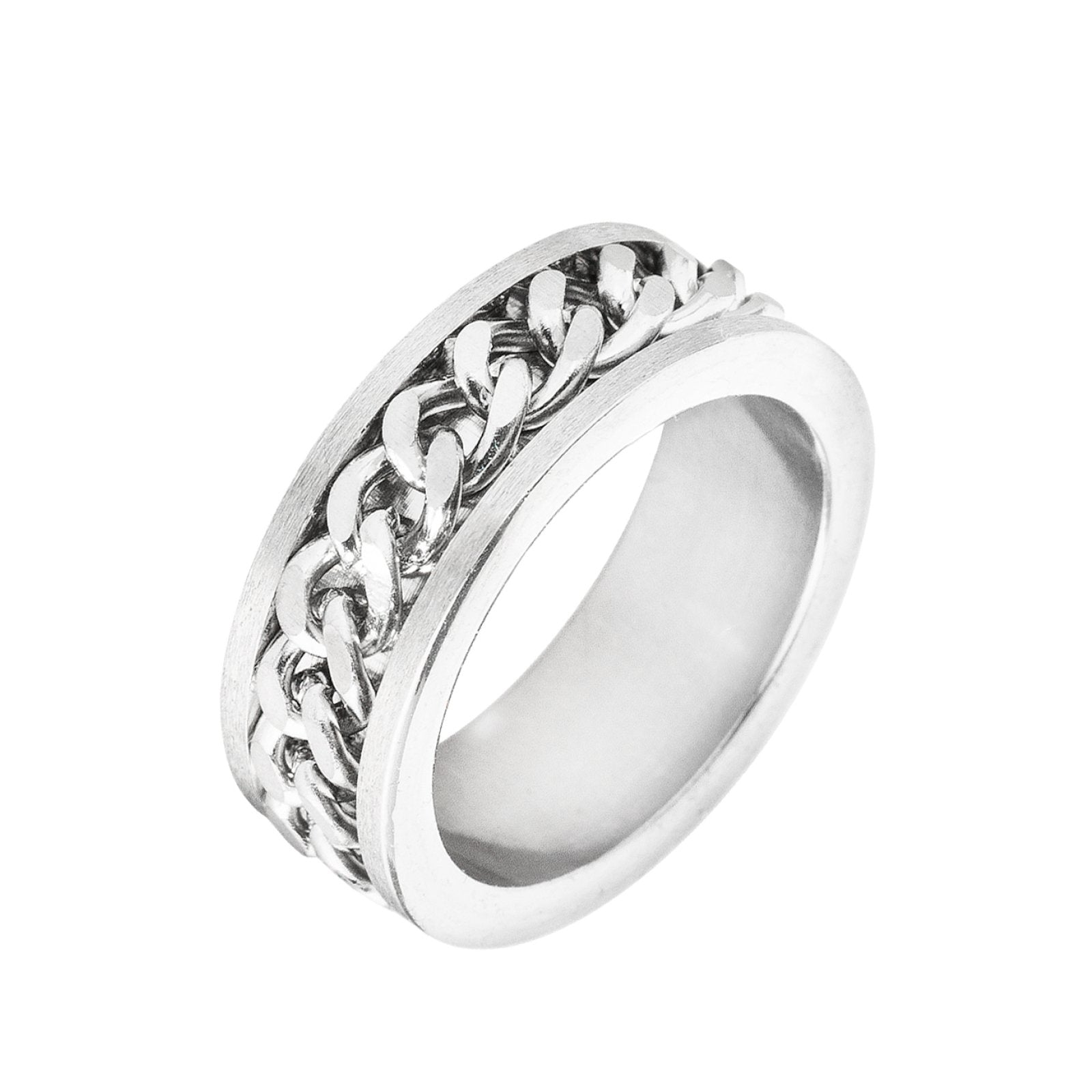Silver Chainlink Ring