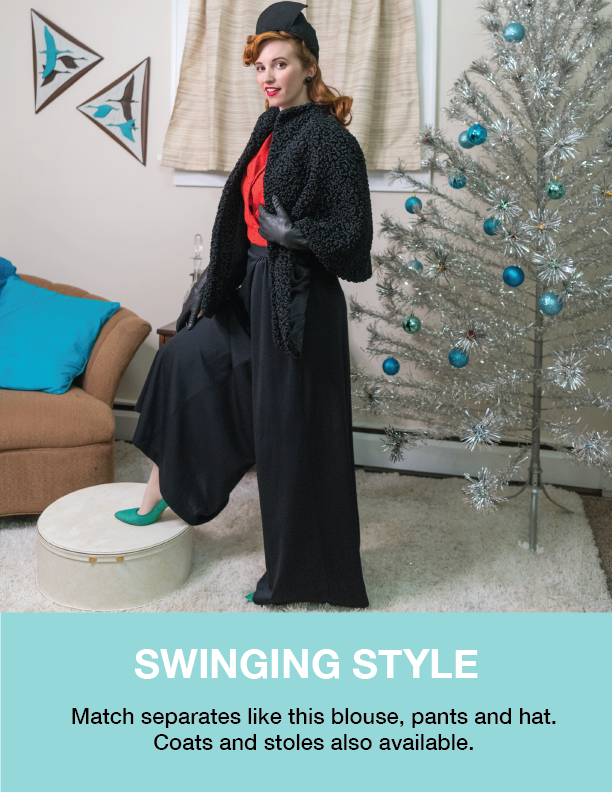Holiday Style Guide 1940's Ball The Hop