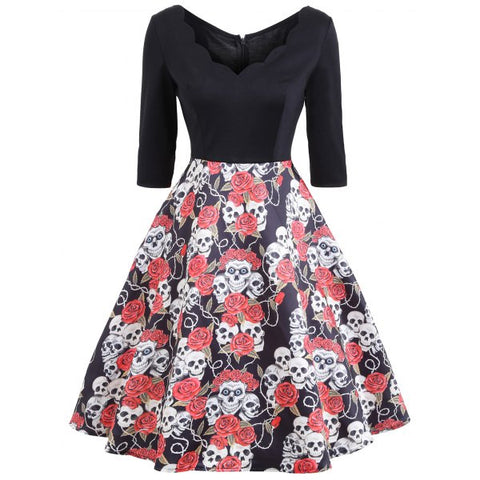 W Dresses - The Hop - Skull