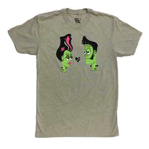 The Hop Franken Couple Grey T-Shirt