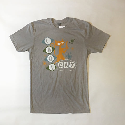 Cool Cat T-Shirt in Putty