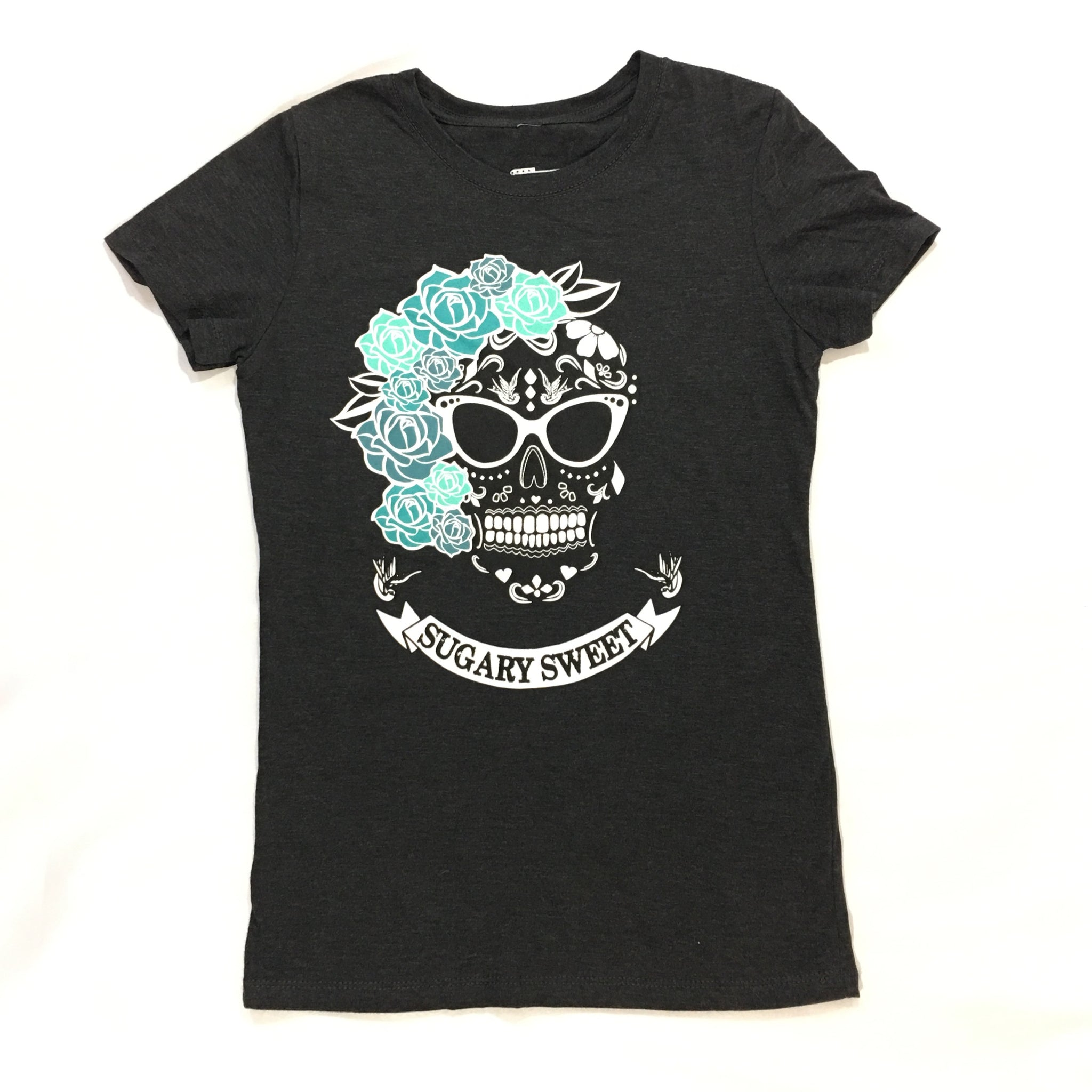 Sugary Sweet T-Shirt in Black