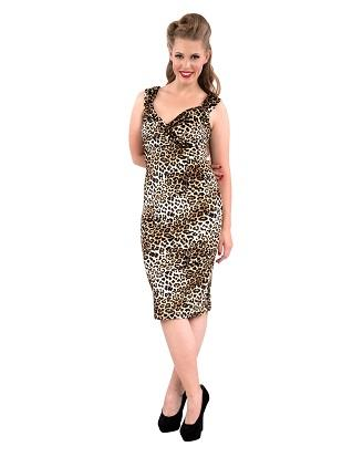 SALE Steady Velvet Leopard Diva Dress