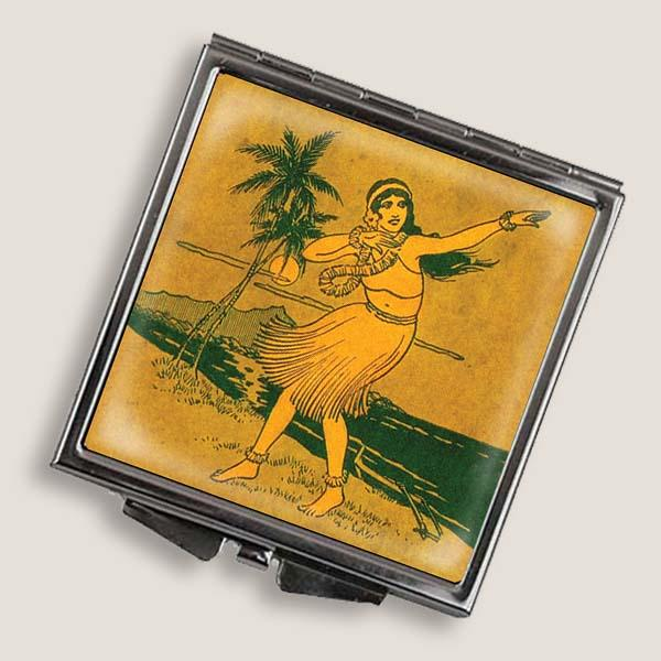 SALE Hula Girl Compact