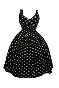 Polka Dot Midi Sing Dress