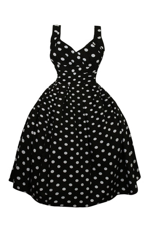 W Dresses - The Hop - Polka Dot Midi Dress