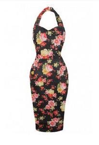 W Dresses - The Hop - Floral Wiggle Dress