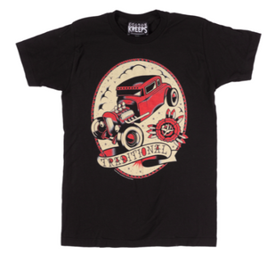 Sourpuss Traditional Hot Rod T-Shirt