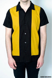 Bowling Shirt - Anchor Mustard