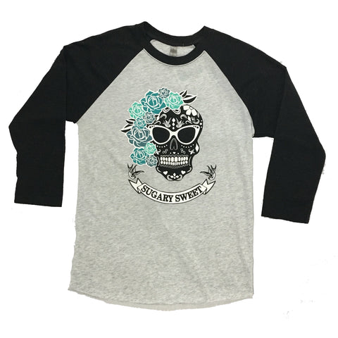 W Tops - The Hop - Sugary Sweet Raglan