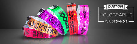 Custom Holographic Wristbands