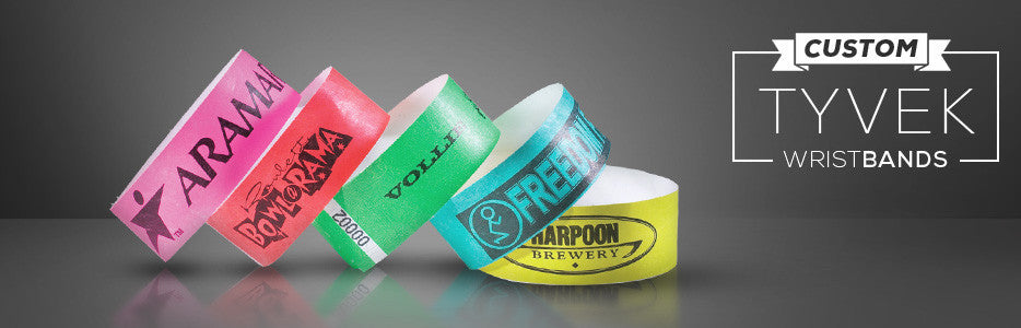 picture relating to Printable Wristbands for Events referred to as Customized Published Tyvek Wristbands Inexpensive Customizable
