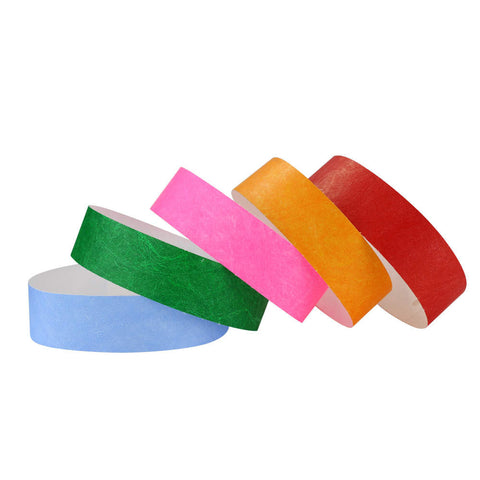 "SecurBand® Jr. Tyvek 3/4"" Wristbands 2025 -  1000/Box - Wristbands.com, The No.1 Wristband Store in the World"
