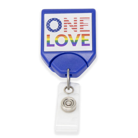 B-REEL™ Pride Badge Reel - Blue (25/Pack)