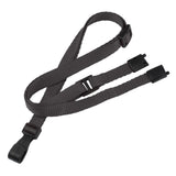 "Breakaway Adjustable Flat Braided 3/8"" Lanyard 2137 -100/Pack - Wristbands.com"