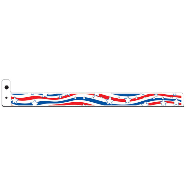 "Superband® Expressions Plastic Wristbands 3/4"" Liberty Design 4045 (500/Box) - Wristbands.com"