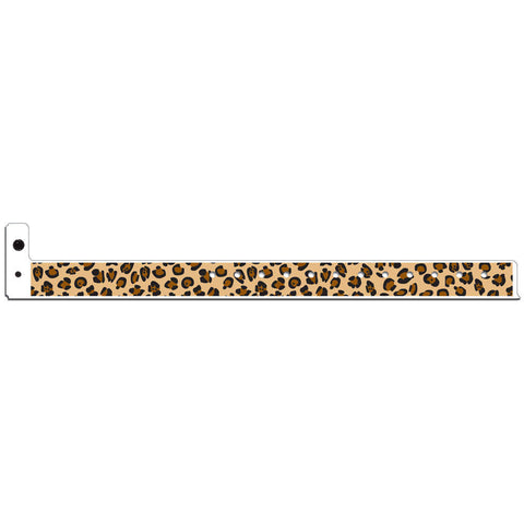 "Superband® Plastic 3/4"" Leopard Design Wristbands 4046 - 500/Box - Wristbands.com, The No.1 Wristband Store in the World"