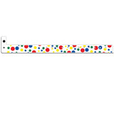 "Superband® Plastic 3/4"", Bubble Explosion Design Wristbands, 4061-11-PDM, 500/Box"