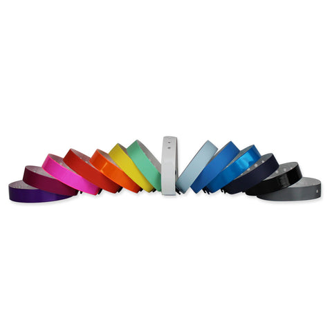 "Vinyl 1/2"" Wristbands 430P - 500/Box - Wristbands.com, The No.1 Wristband Store in the World"