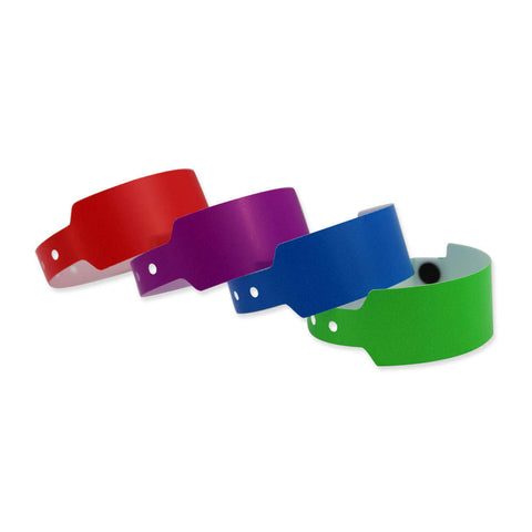 "Superband® Plastic Wristbands 1"" 450P (500/Box) - Wristbands.com"