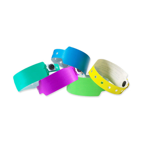 "Superband® Plastic Wristbands 1"" 470P (500/Box) - Wristbands.com"