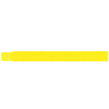 "ScanBand® S Direct Thermal 1 1/8"" Wristbands - 7445SL - Yellow - 500/Box"