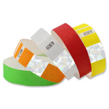 "Custom Tytan-Band® 3/4"" Hologram Tyvek Wristbands NTSH (500/Pack) - Wristbands.com"