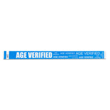 Age Verification Wristbands - Blue