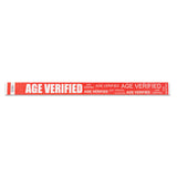 Age Verification Wristbands - Red
