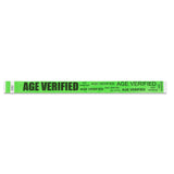 Age Verification Wristbands - Green