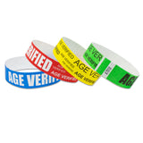 Age Verification Wristbands