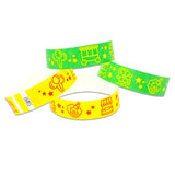 "Tytan® Band Expressions Tyvek Wristbands 3/4"" Carnival Design NTX126 (500/Pack) - Wristbands.com"