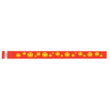 "Tytan Band® Expressions Tyvek Wristbands 3/4"" Happy Faces Design NTX51 (500/Pack) - Wristbands.com"