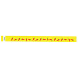 "Tytan Band® Expressions Tyvek 3/4"" Chili Peppers Design Wristbands NTX54 - Yellow - 500/Pack - Wristbands.com, The No.1 Wristband Store in the World"