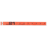 "Tytan Band® Expressions Tyvek Wristbands 3/4"" Over 21 Design NTX61 (500/Pack) - Wristbands.com"