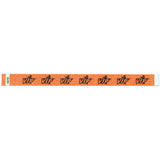 "Tytan Band® Expressions Tyvek Wristbands 3/4"" VIP Stars Design NTX81 (500/Pack) - Wristbands.com"