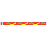 "Tytan Band® Expressions Tyvek Wristbands 3/4"" Paint Brush Design NTX84 - Red (500/Pack) Clearance - Wristbands.com"